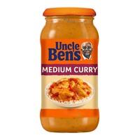 Uncle Ben's Medium Curry Sauce 450g