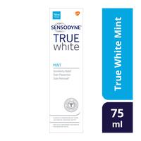 Sensodyne true white mint toothpaste 75 ml