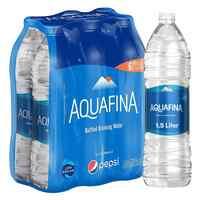 Aquafina Bottled Drinking Water 1.5 x Pack of 6
