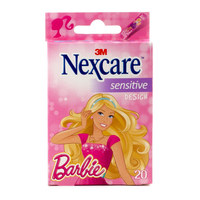 Nexcare Sensitive Barbie Design Bandages 20 Piece