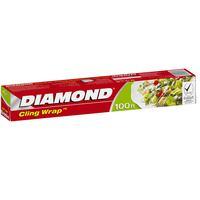 Diamond Superior Food Grade Cling Wrap 30M