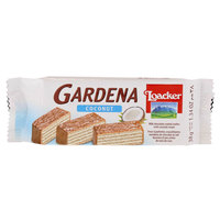 loacker Gardenia Milk Chocolate Coated Wafers with Coconut Cream 38g