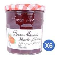 Bonne Maman Strawberry 370g x Pack of 6