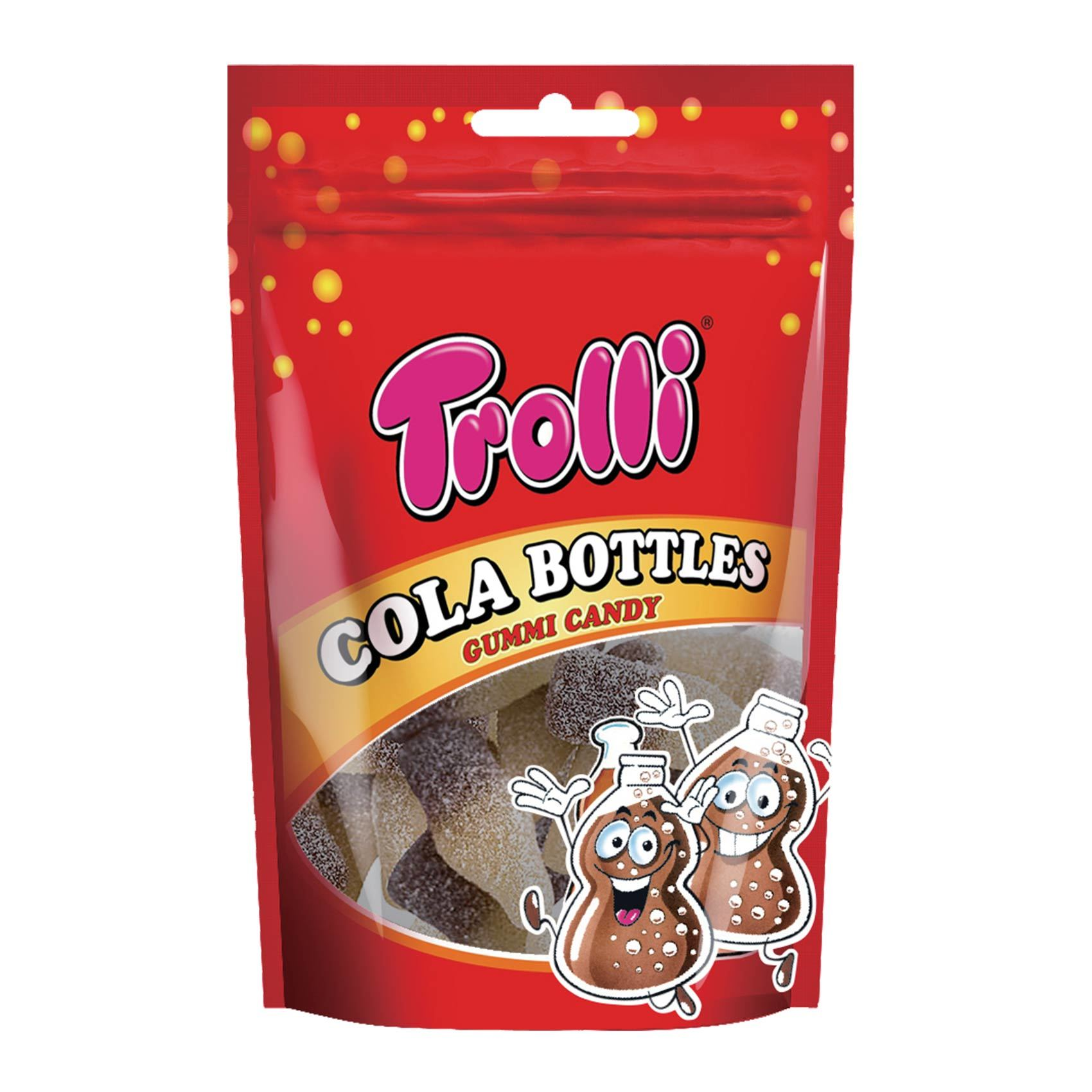 Buy Trolli Cola Bottles Gummi Candy 100 G Online Shop Food Cupboard On Carrefour Saudi Arabia