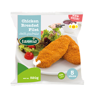 Tanmia Chicken Breaded Filet 520GR