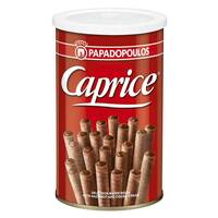 Papodopoulos Caprice Wafer Rolls 400g