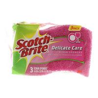 Scotch-Brite Delicate Care Scrub Sponges x Pack of 3