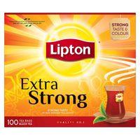 Lipton Extra Strong Black Tea 100 Teabags