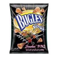 Bugles Corn Snack Bbq Flavor 125 g