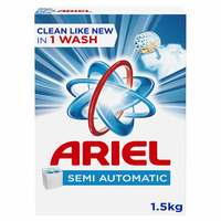 Ariel Laundry Powder Detergent Original Scent Blue 1.5kg