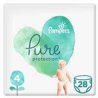 Pampers Pure Baby Diaper Value Pack Size 4 28 Count