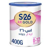 Wyeth Nutrition S26 AR Gold Premium Starter Infant Formula to Reduce Regurgitation, 0-12 Months, 400g