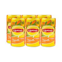 Lipton Ice Tea Peach 175ML X6