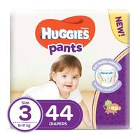 Huggies pants diapers size 3 jumbo pack 6-11 Kg 44 diapers