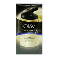 Olay Face Moisturizer Total Effects 7in1 Firming Night Cream with Vitamin B3 50g
