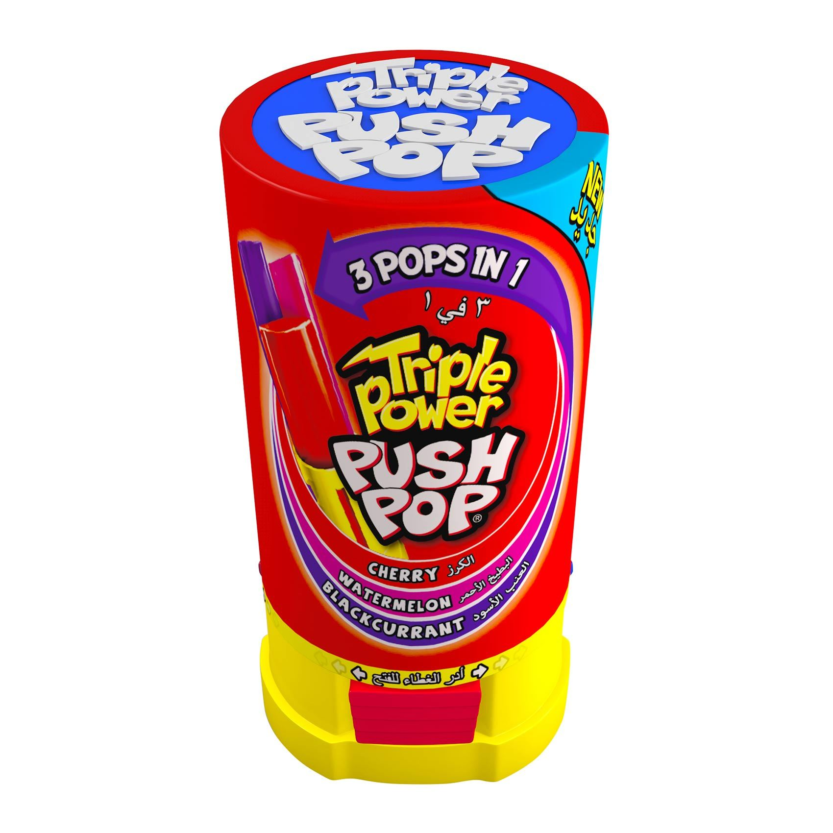 Buy Tripple Powder 3 In 1 Push Pop 34 G Online Shop Food Cupboard On Carrefour Saudi Arabia