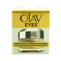 Olay Eyes Ultimate Eye Cream for Wrinkles Puffy Eyes and Dark Circles 15ml