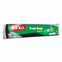 Sanita Scented Trash Bags 15 Pieces
