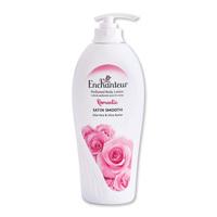 Enchanteur romantic perfumed body lotion satin smooth aloe vera & olive butter 500 ml