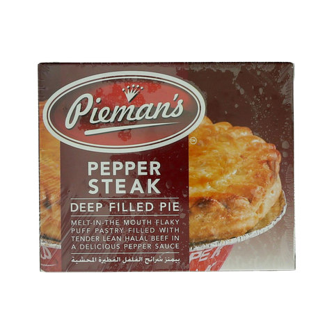Buy Pieman's Pepper Steak Deep Filled Pie 185g Online ...