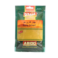Abido Hot Curry Grinded 50GR