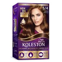 Wella Koleston Permanent Hair Color Kit 5/4 Chestnut