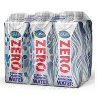 Oasis Tetra Zero Drinking Water 330mlx6