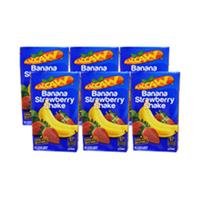 Maccaw Juice Strawberry Banana 125ML X6