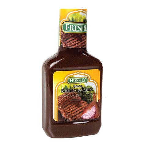 Buy Freshly Onion Bbq Sauce 510 G Online Shop Food Cupboard On Carrefour Saudi Arabia