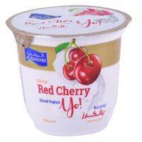 Al Rawabi Full Fat Yo Red Cherry Stirred Yoghurt 130g