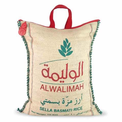 Buy Al Walimah Sella Basmati Rice 10 Kg Online Shop Food Cupboard On Carrefour Saudi Arabia