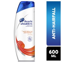 Head & shoulders anti-hairfall shampoo 600 ml