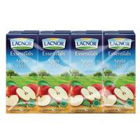 Lacnor Essentials Apple Juice 180ml x Pack of 8