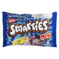 Nestle Smarties Mini Chocolate Bag 216g