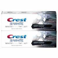 Crest 3DW Charcoal Deep Clean Toothpaste Pack of 2