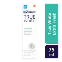Sensodyne true white extra fresh toothpaste 75 ml