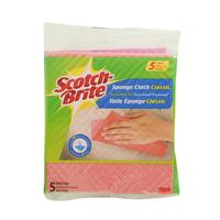 Scotch-Brite Classic Cloth Sponge Pack of 5