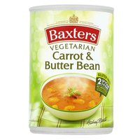 Baxters Carrot And Butter Beans Vegetarian Soup 400g