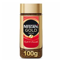Nescafe gold decaf instant coffee 100 g
