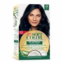 Wella soft color hair color kit 28 blue black