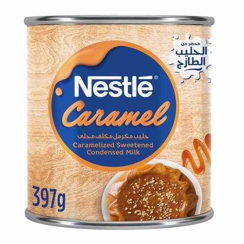 Buy Nestle Caramel Condensed Milk 397 G Online Shop Food Cupboard On Carrefour Saudi Arabia