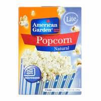 American Garden Microwave Light Popcorn 240g