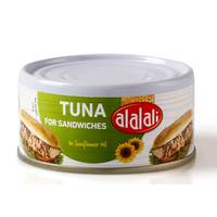 Al Alali Yellowfin Tuna for Sandwiches in Sunflower Oil 170g