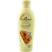 Enchanteur Moisture Silk Elegant Musk Perfumed Body Lotion 250ml
