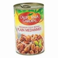 California Garden Fava Beans Plain Medammes 450g