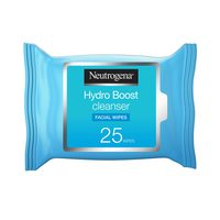 Neutrogena hydro boost cleanser facial wipes 25 wipes