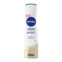 Nivea deodorant spray clean protect 200 ml