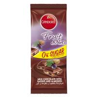 Canderel Fruit And Nuts Chocolate 85g