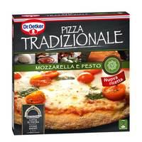 Dr.Oetker Traditional Mozzarella Pesto Pizza 370g