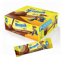 Nestle Nesquik Biscuit with Chococlate Cream 28g x Pack of 12
